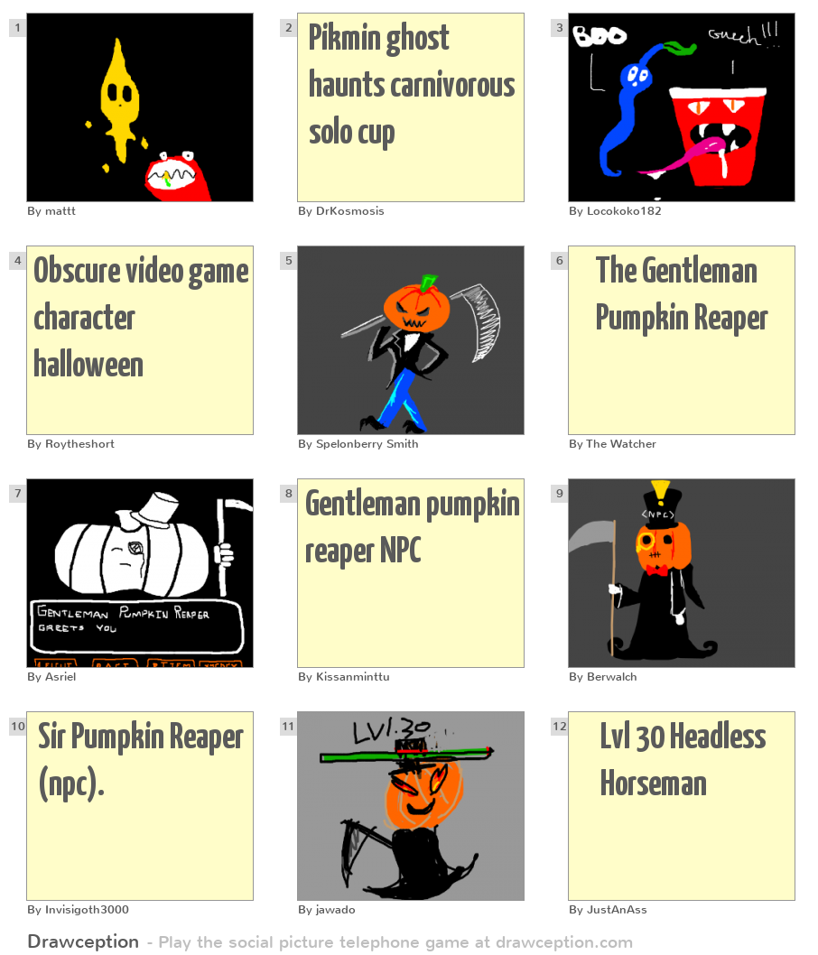 "Shigeru Miyamoto Names ""Pikmin Spotted"" Drawing Contest ... |Pikmin Halloween"