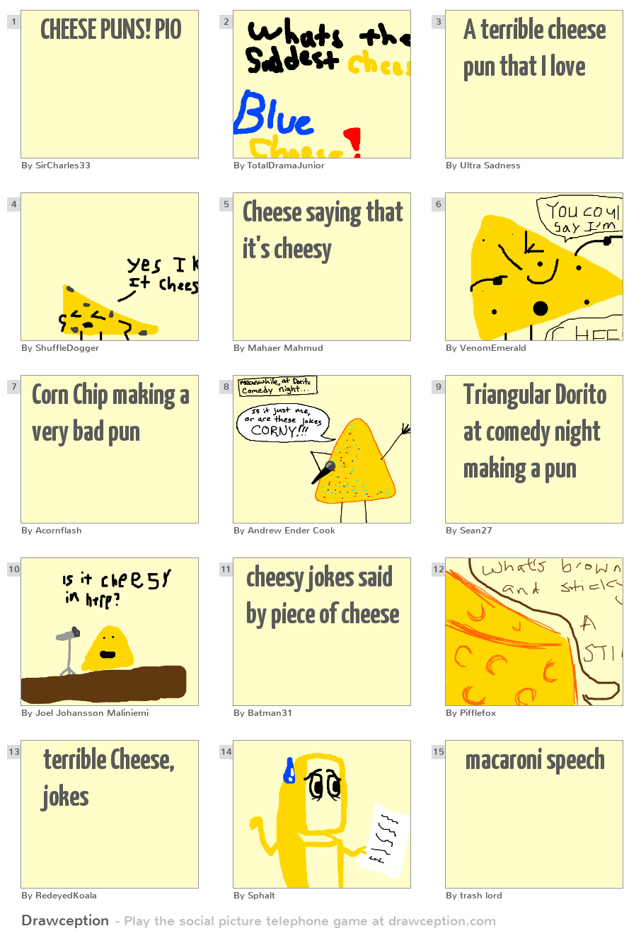 mac and cheese puns