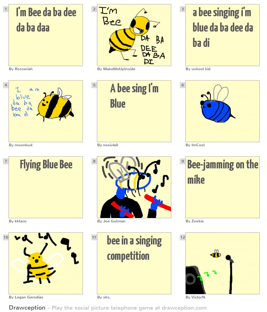 I'm Bee da ba dee da ba daa - Drawception