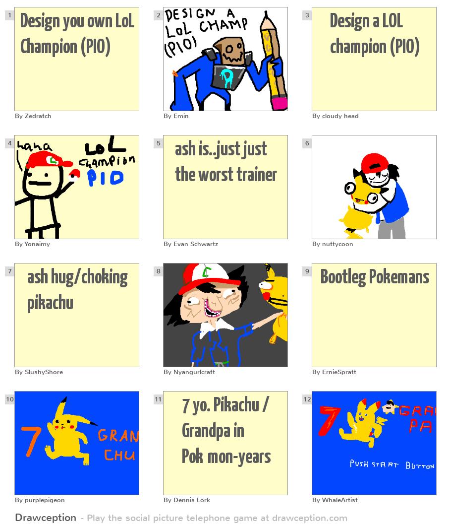 design you own lol champion pio