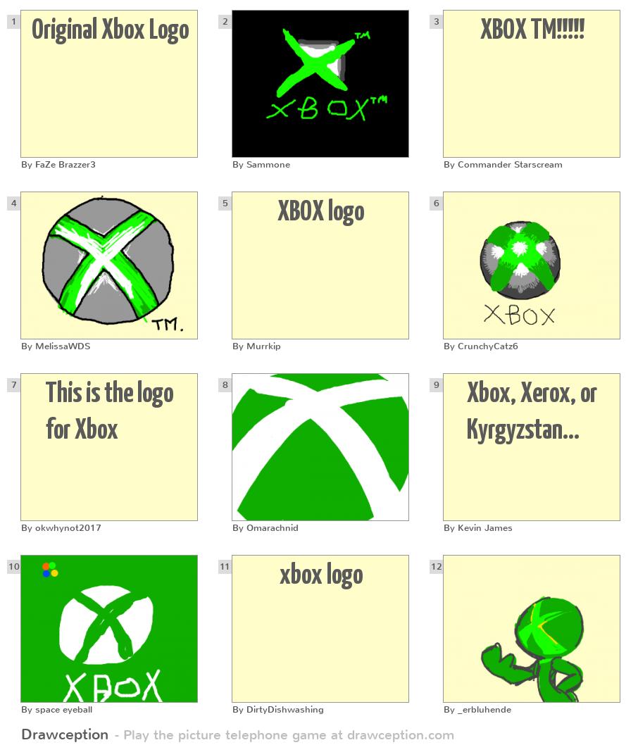 Fun Games For Xbox Original : Original xbox logo