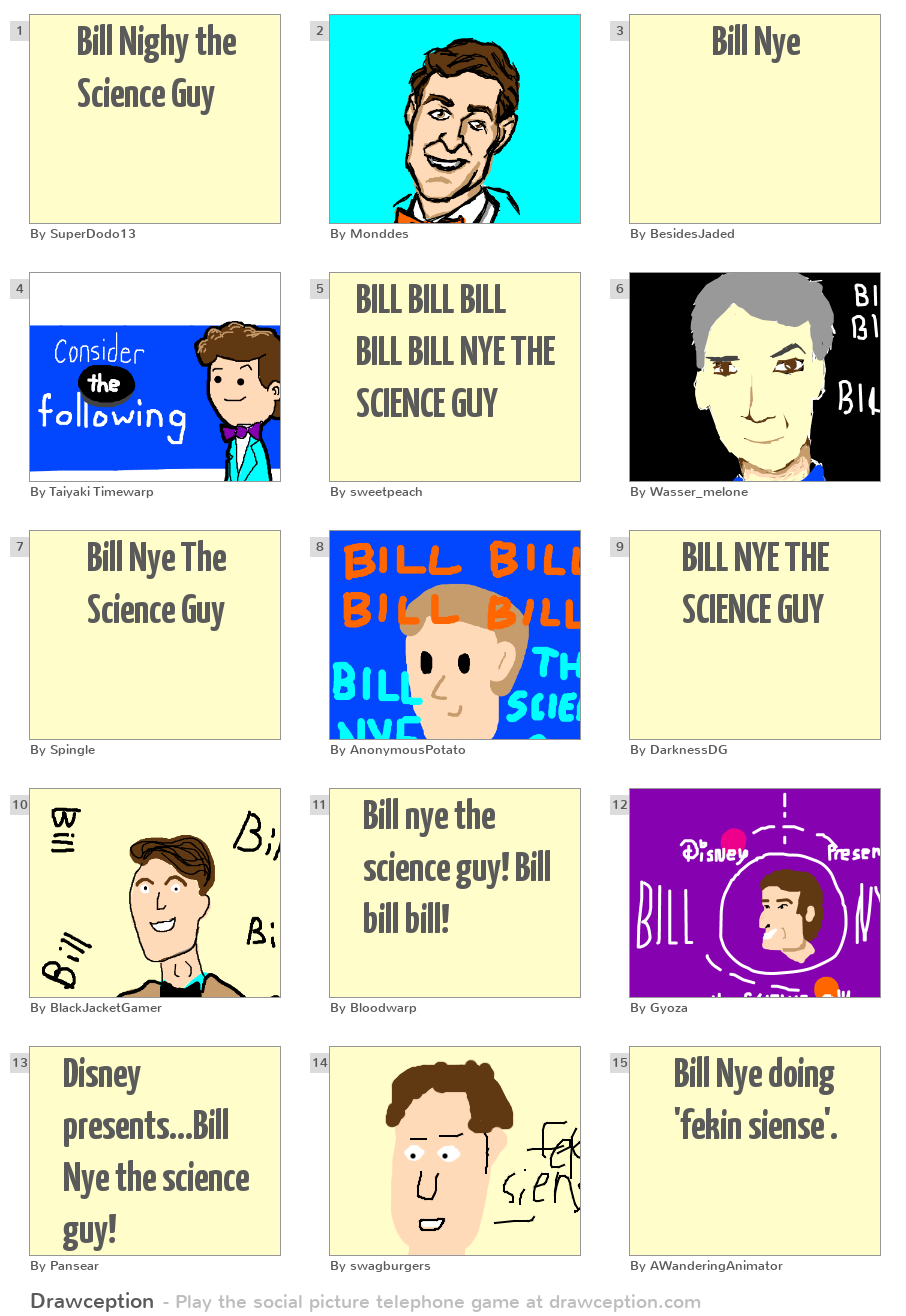 Bill Nye the Science Guy WAY COOL GAME O' SCIENCE | Board ...