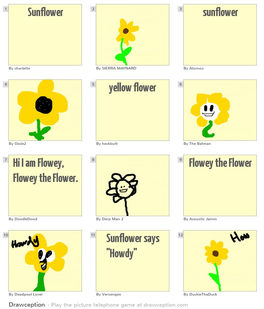 Sunflower - Drawception