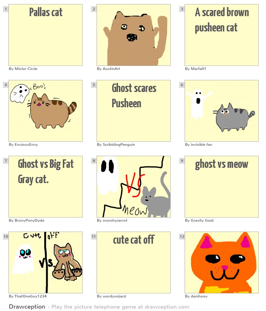 Pallas Cat Drawception