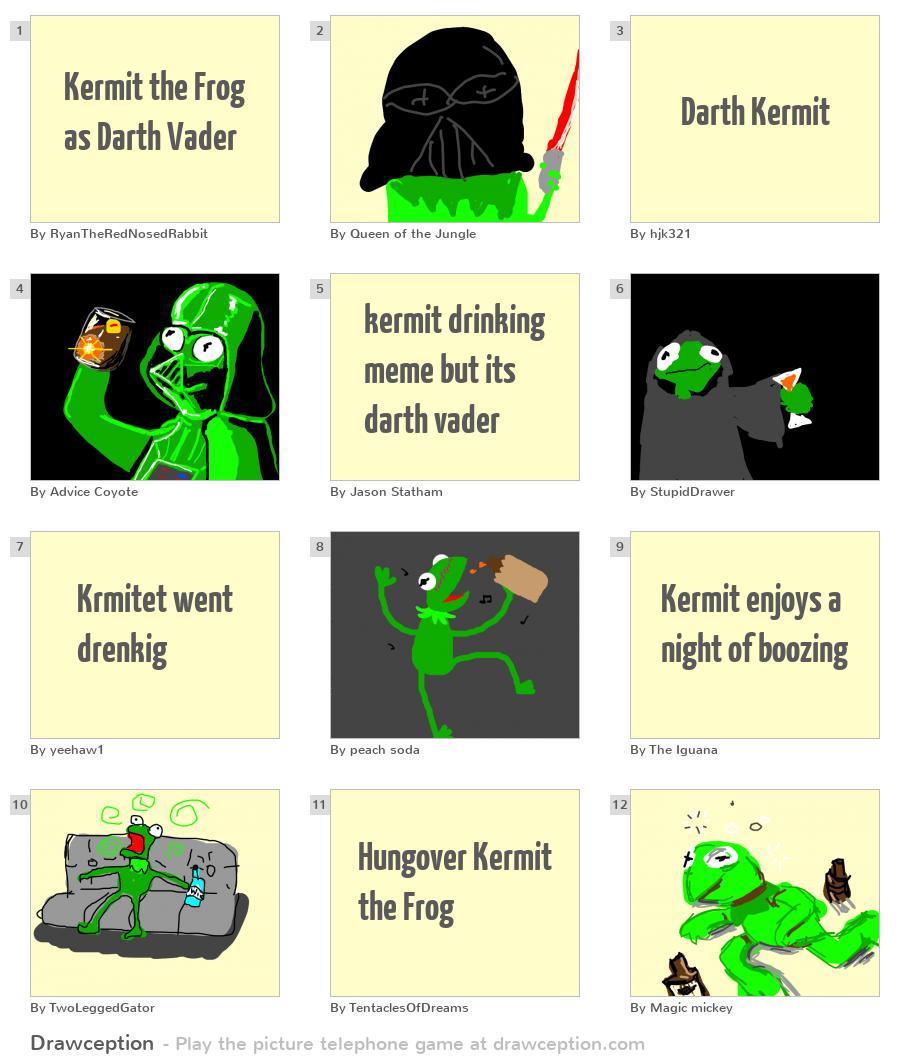 Kermit | Simple Darthipedia | FANDOM powered by Wikia  |Darth Kermit Meme Lifting