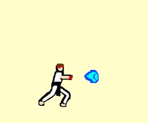 1980's videogame Hadouken