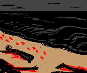 Beach massacre! :O