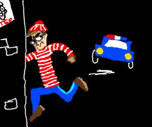 C'mon Waldo! Go hide!