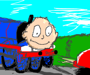 I choose you, Tommy the Train!