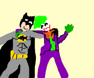 Batman & Joker truce like bros
