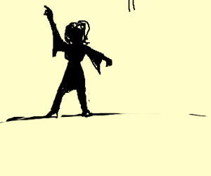 I can dance like a man!