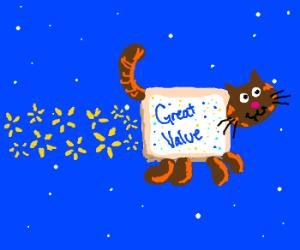"Walmart's own ""Nyan-Cat"""