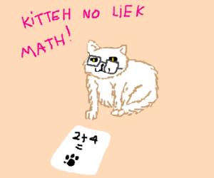 cat^2+2cat-3cat=0, Solve for cat.