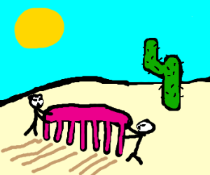 Comb the desert!