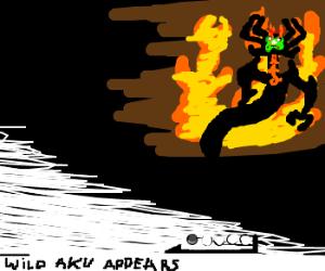 A wild AKU appears!