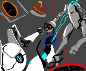 Portal Kombat! Ultimate Fight for Cake!