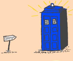 All Hail the Strange Blue Box
