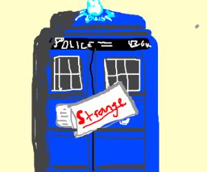 TARDIS is declared strange