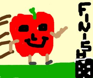 Happy apple runs