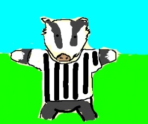 Badger Badger Badger football referee