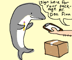 Don the Dolphin gets whats coming to him