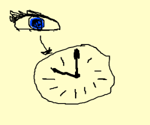 Look at the time!