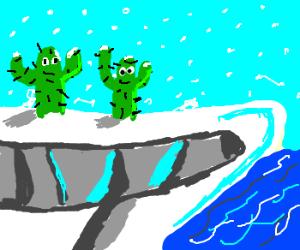 Cacti actually thrive in Antarctica...