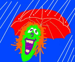 I has an umbrella!