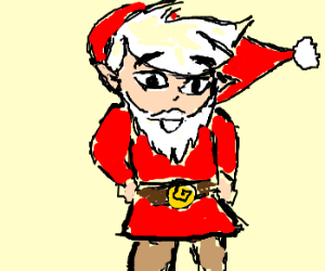 Red Link is actually Santa Claus