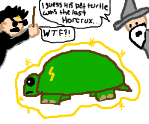 my pet turtle is the final horcrux