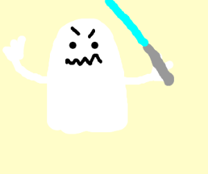 Angry Lightsaber Ghost