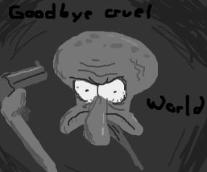Squidward Commits Suicide
