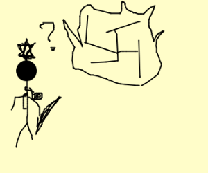 Awkward - Jew meets Swastika