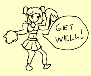 I'm ill. Cheer me up, please :(I