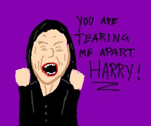 Tommy Wiseau portrays Severus Snape