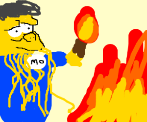 Moethulhu is an arsonist