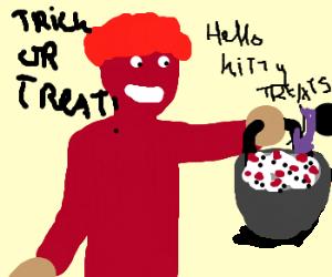 hello kitty trick or treats