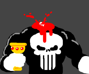 The Punisher chose...poorly.