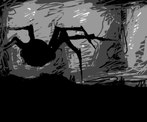 The giant spider from limbo