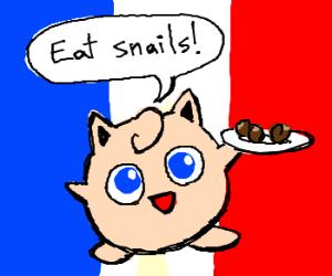 Jigglypuff recommends escargot