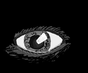 Artist's impression of a tortured soul