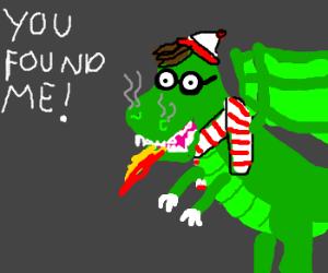 Where's Wald-OH SHIT A DRAGON!!!!