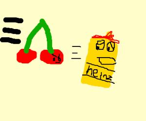 Cherry Gebrselassie chasing mustard