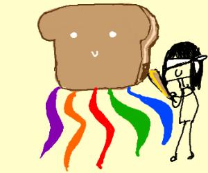 Toast Pinata