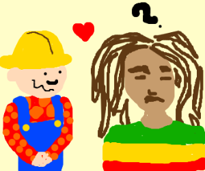 Bob the Builder in love with another Bob