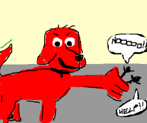 Clifford The Big Red Dog Joins The Kkk