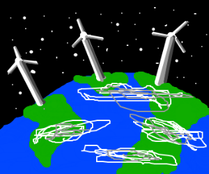 Windmills for the Earth.