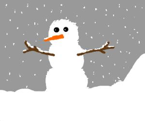 Montanan snowman
