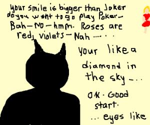 Batman Recites Poetry Drawception