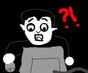 dracula spends time on the internet